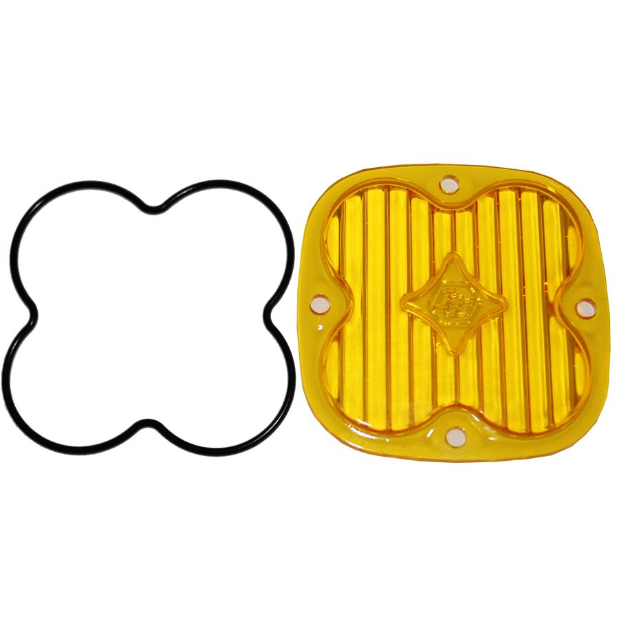 Baja Designs 668415 Squadron Series Amber Wide Cornering Lens Kit