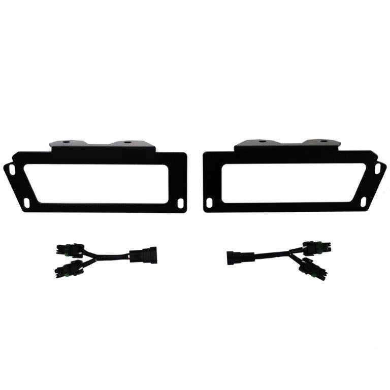 Baja Designs 448011 2010 to Current Dodge Ram 2500 and 3500 Fog Pocket Bracket Kit