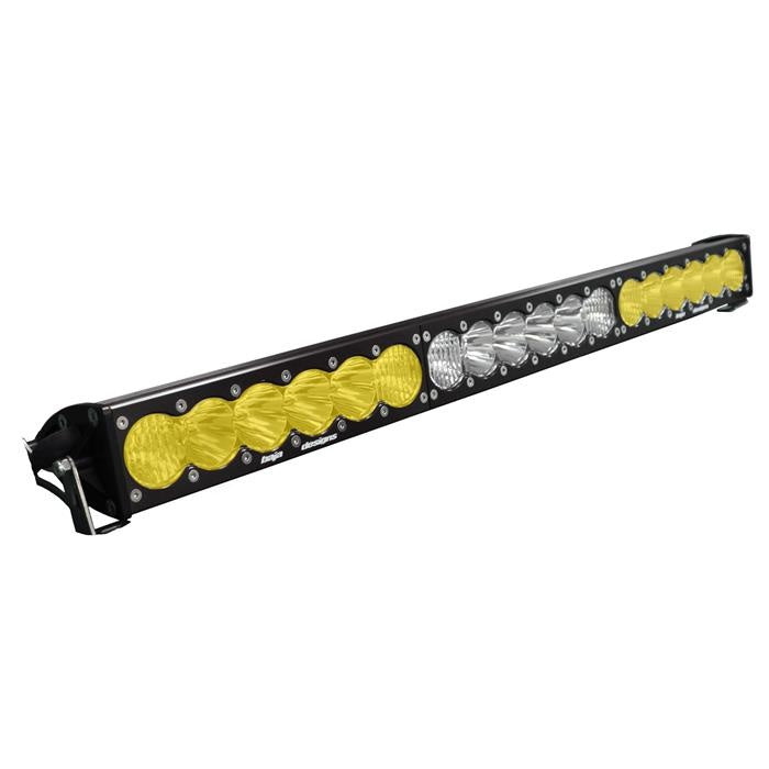 "Baja Designs 463014 OnX6 30"" Dual Control Amber/White LED Light Bar"