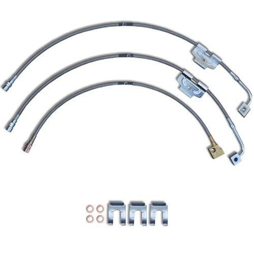 1999 to 2004 Ford F250 / F350 4WD Stainless Steel Brake Line Assemblies