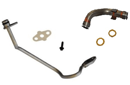Ford 6.0L Powerstroke Updated Turbo Oil Lines Kit