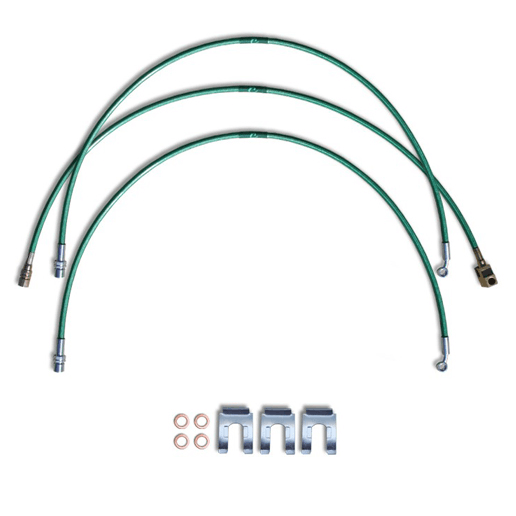 2002 to 2018 Dodge Ram 1500 Replacement Stainless Steel Braided Brake Lines