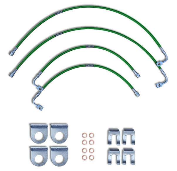 Dodge 2012 Dodge Ram 2500/3500 Replacement Stainless Steel Brake Lines