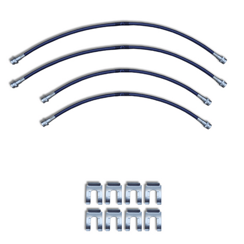 2007 to 2016 Toyota Tundra Replacement Stainless Steel Brake Line Kit