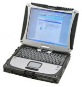 refurbished panasonic toughbook CF-19 laptop