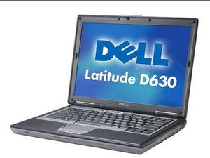 refurbished dell d620 d630 laptop with windows 7 and microsoft office 2007 and rs232 serial port