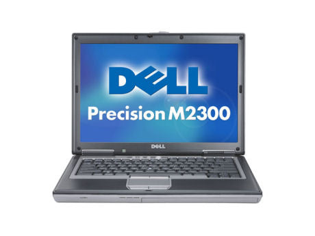 refurbished dell m2300 precision CADCAM laptop with windows 7 and microsoft office 2007 and rs232 serial port