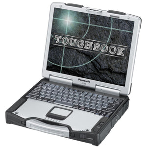 refurbished panasonic toughbook cf-29 laptop fully refurbished and ruggardised with Windows xp serial rs232 parallel printer port