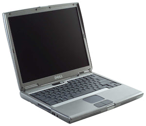 Windows 2000 Professional laptop DELL Latitude D610 with built in parallel port for CNC use and SERIAL RS232 port, etc