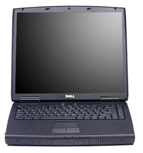"Windows XP gaming laptop DELL Inspiron 2650 with built in 3.5"" floppy disk drive and parallel port for CNC use, etc"