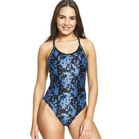 Zoggs Como Piped Sprintback One Piece Swimsuit