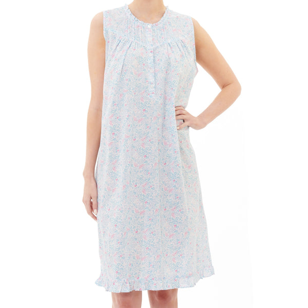 Givoni 30% Sale Pieta Woven Cotton Sleeveless Nightdress