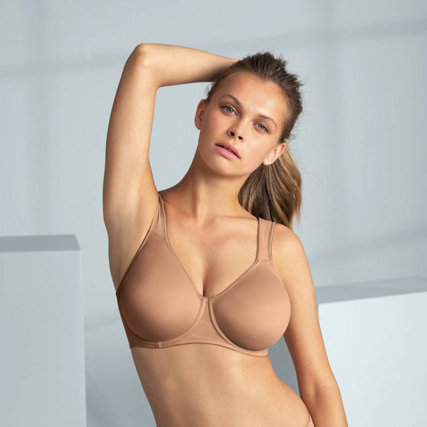 Rosa Faia Twin Underwired Bra Skin