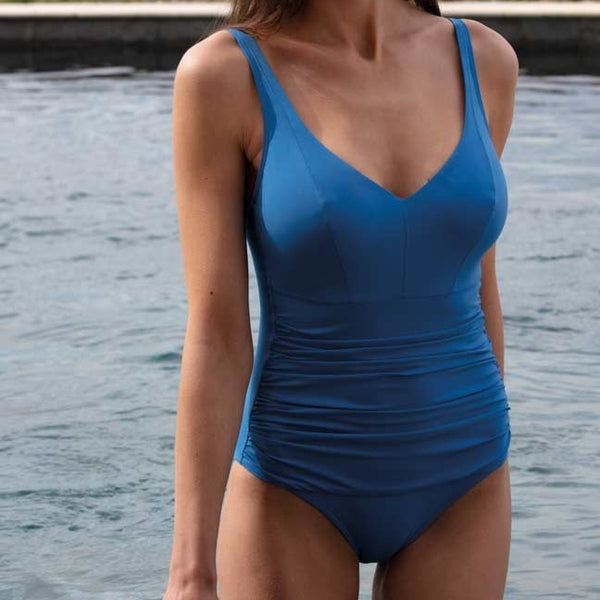 Empreinte Body V-Neck One Piece Swimsuit