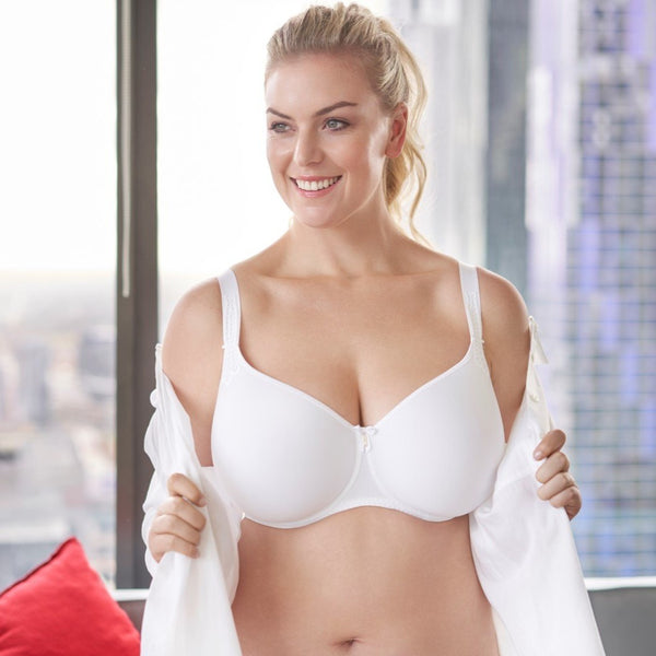 Corin Virginia Spacer Bra White