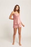 Ginia Silk V Neck Cami