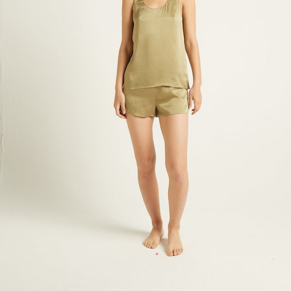 Ginia Washable Silk Short