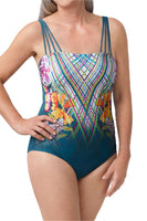 Amoena Havana Pocketed One Piece Swimsuit