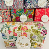 Anna's of Australia Liberty Print Wrapped Goat's Milk Soap in Assorted Patterns