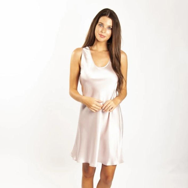 Love & Lustre Mono Silk Short Nightdress