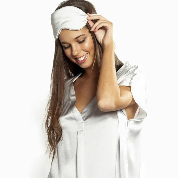 Love & Lustre Silk V Neck Sleepshirt