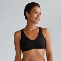Amoena Frances Wirefree Front Closure Pocketed Bra