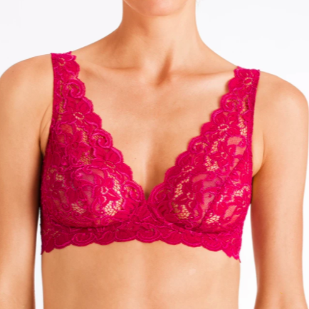 Hanro Moments Lace Soft Cup Bra Seasonal Colours