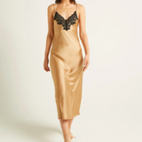 Ginia Silk Pick & Mix Long Nightdress