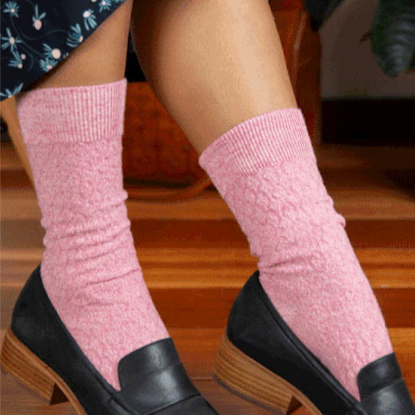 Humphrey Law Merino Quilted Health Sock