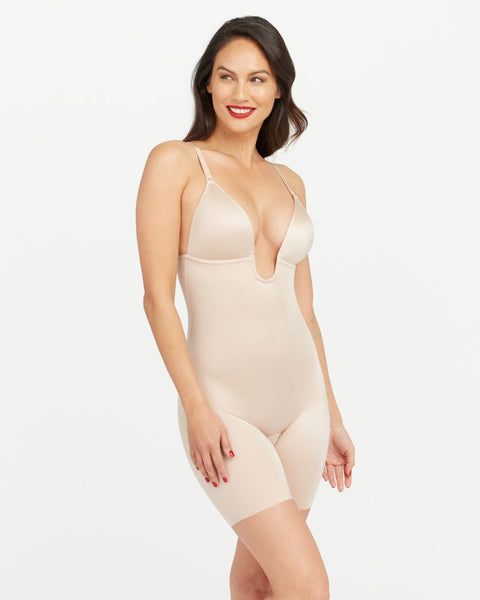 Spanx Plunge Low Back Shapewear Bodysuit