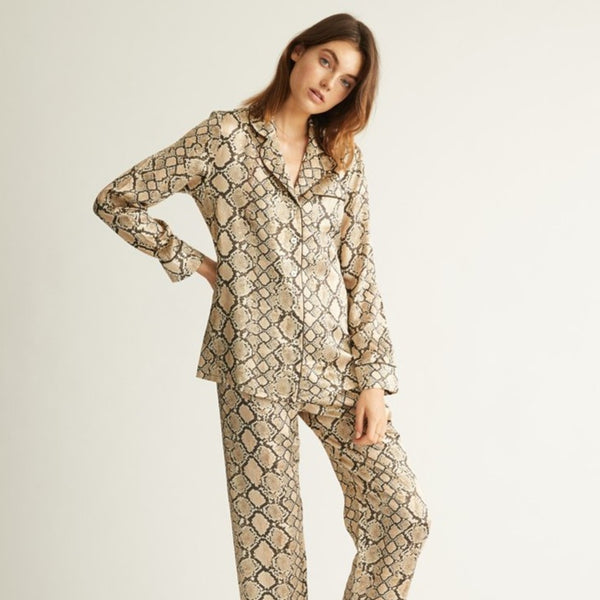 Ginia Fine Finishes Silk Pyjama