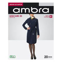 Ambra Legcare 20 Pantyhose. Perfect for all day wear or travel.