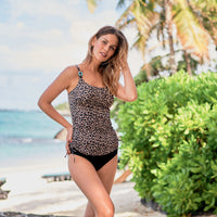Anita Monti Pocketed Tankini Top