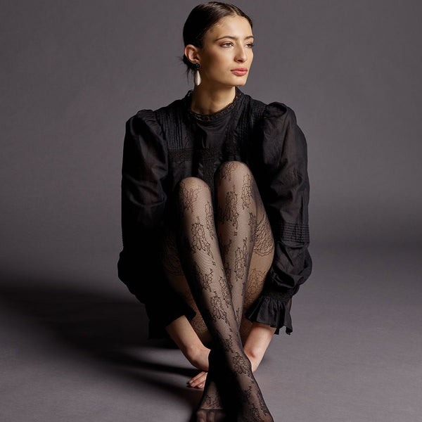 Levante Maela Sheer Lace Pantyhose