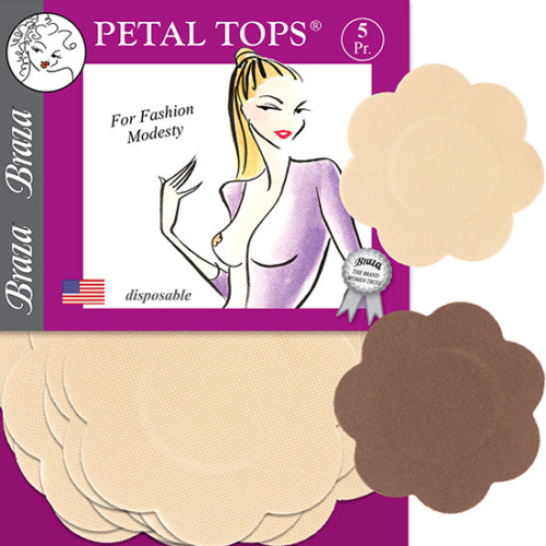 Braza Petal Tops Nipple Covers