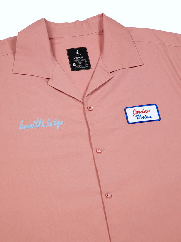 Mechanic Shirt (Rust PInk)