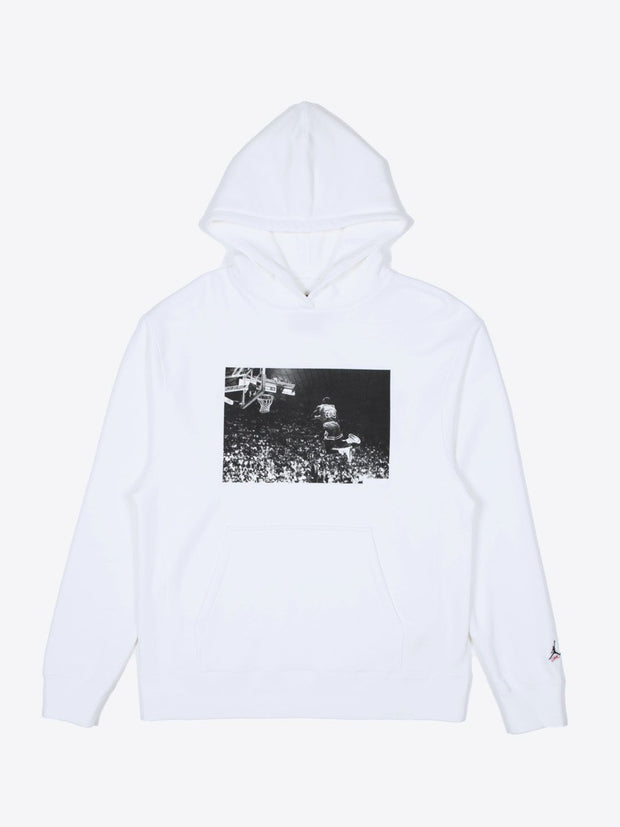 Flying High Hooded Sweatshirt (White)