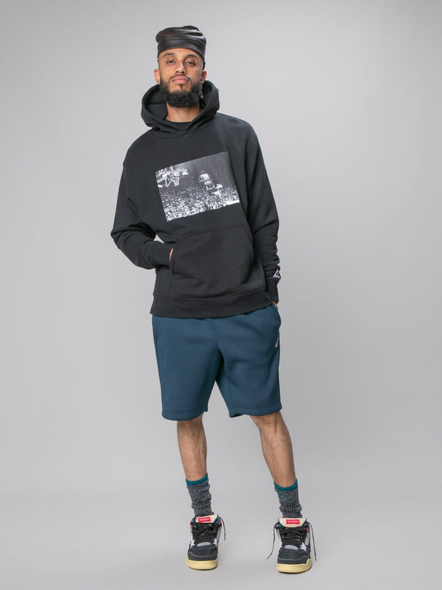 Flying High Hooded Sweatshirt (Black)