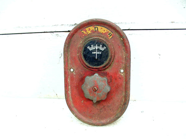Industrial Gauge - Ammeter With Switch - Ship Train Steampunk DIY Industrial Light Project - idugitup