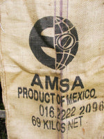 Vintage Burlap Sack - Heavy and Large Coffee Sack - Ansa - idugitup