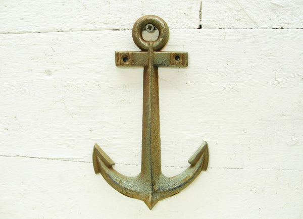 Weathered Metal Anchor - Beach Theme Decor - Beach Lover Gift - Free Shipping
