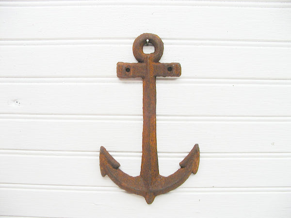 Rusty Metal Anchor - Beach Theme Decor - Beach Lover Gift - Free Shipping - idugitup