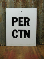 Tobacco Price Sign - Cigarette Advertising Sign - Metal Sign - idugitup