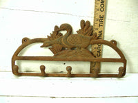 Rustic Coat Hook - Duck Hunter Gift - Great for Keys or Coats - Rustic Decor