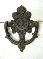 Cottage Garden Door Knocker - Potting Shed Doorknocker - Free Shipping
