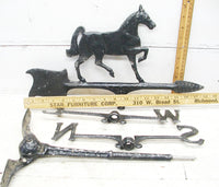 Vintage Horse Weathervane For Sale - Horse Lover Gift - Ready to Mount - idugitup