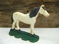 Cast Iron Horse Door Stop - Unique Horse Lover Gift