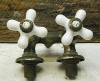 Antique Standard Porcelain and Brass Spigot for Claw Foot Tub - idugitup