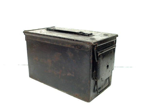 Vintage Military Ammo Can Box  - Craft Hobby Storage - idugitup