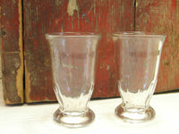 Vintage Glass Dessert Cups - Replacement Parfait Glasses - Ice Cream Soda - idugitup